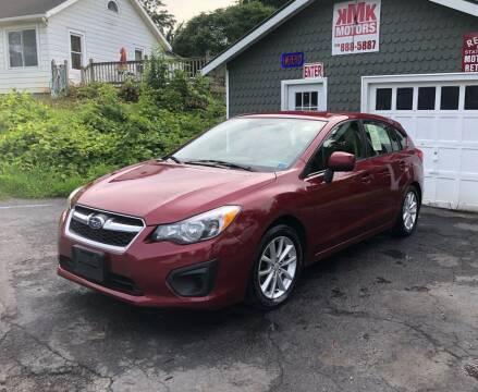 2014 Subaru Impreza for sale at KMK Motors in Latham NY