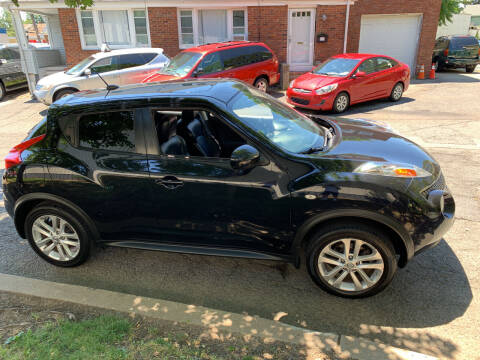 2012 Nissan JUKE for sale at UNION AUTO SALES in Vauxhall NJ
