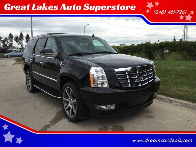 2011 Cadillac Escalade for sale at Great Lakes Auto Superstore in Waterford Township MI