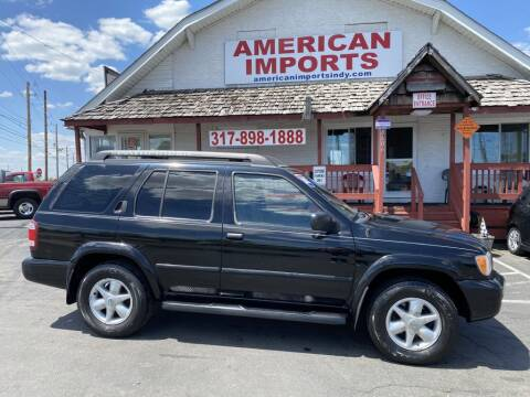 2002 Nissan Pathfinder for sale at American Imports INC in Indianapolis IN