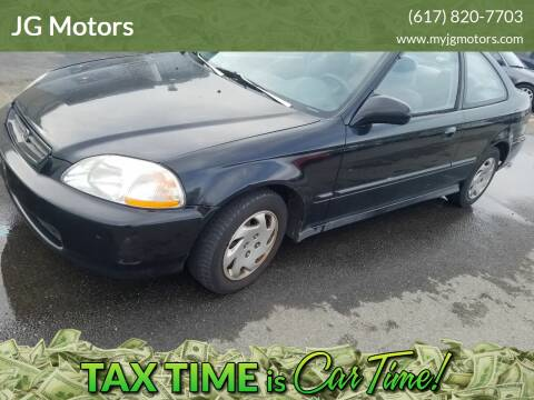 1997 Honda Civic for sale at JG Motors in Worcester MA