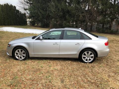 2009 Audi A4 for sale at MECHANICSBURG SPORT CAR CENTER in Mechanicsburg PA