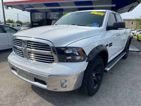 2014 RAM Ram Pickup 1500 for sale at Cow Boys Auto Sales LLC in Garland TX