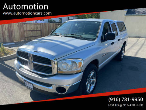 2006 Dodge Ram Pickup 1500 for sale at Automotion in Roseville CA