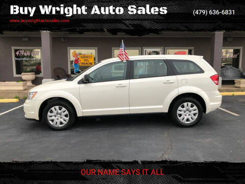 2014 Dodge Journey for sale at Buy Wright Auto Sales in Rogers AR