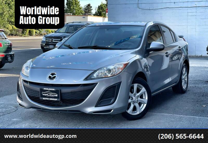 2011 Mazda MAZDA3 for sale at Worldwide Auto Group in Auburn WA