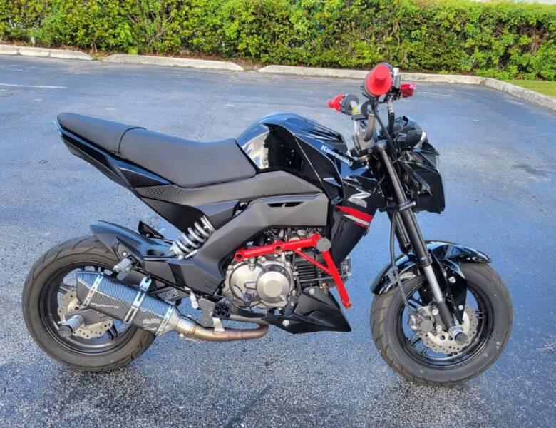 2019 Kawasaki Z125 for sale at FIRST FLORIDA MOTOR SPORTS in Pompano Beach FL