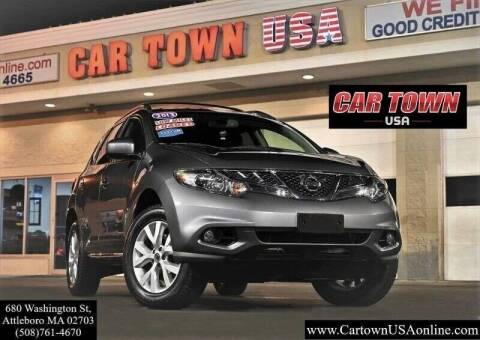2013 Nissan Murano for sale at Car Town USA in Attleboro MA
