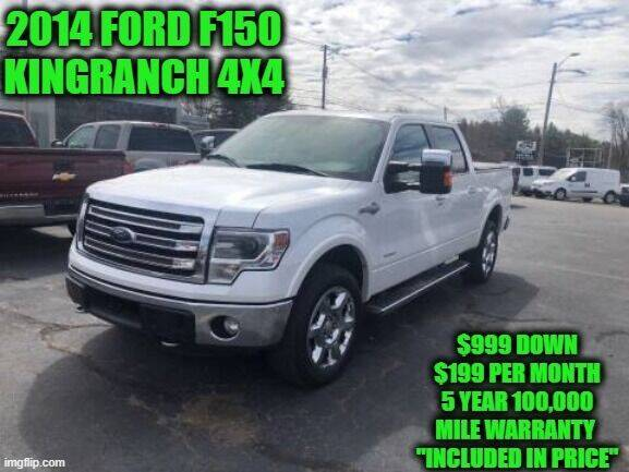 2014 Ford F-150 for sale in Rowley, MA