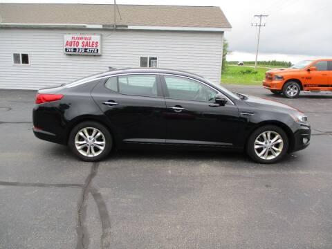 2013 Kia Optima for sale at Plainfield Auto Sales, LLC in Plainfield WI