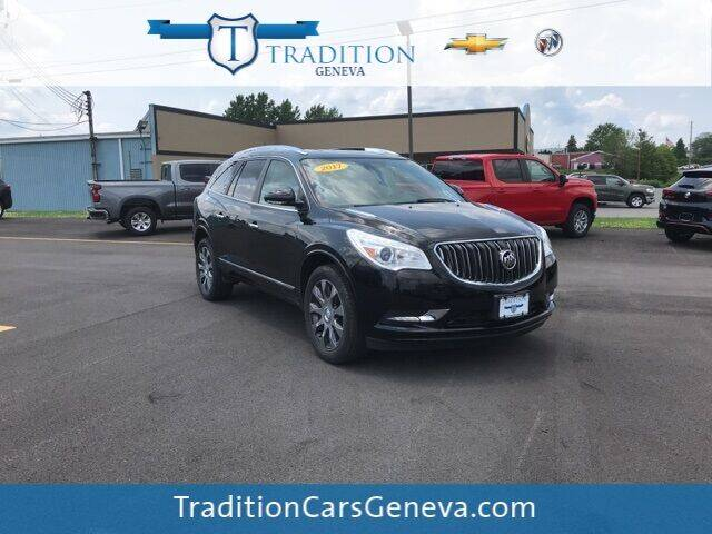 2017 Buick Enclave for sale at Tradition Chevrolet Buick in Geneva NY