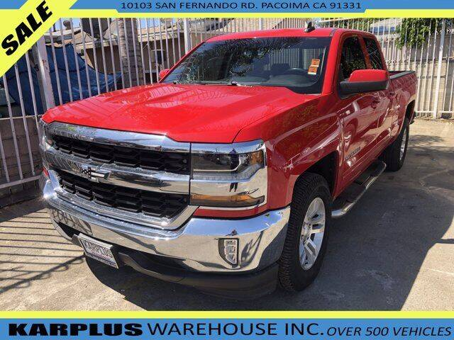 2016 Chevrolet Silverado 1500 for sale at Karplus Warehouse in Pacoima CA