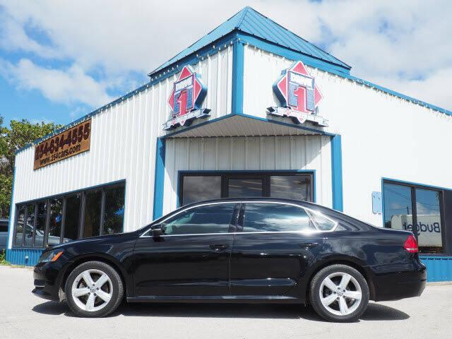 2013 Volkswagen Passat for sale at DRIVE 1 OF KILLEEN in Killeen TX