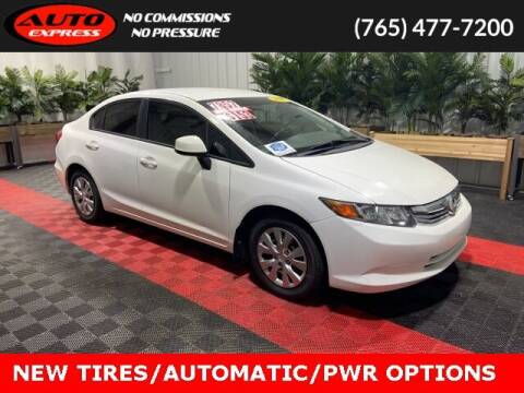 2012 Honda Civic for sale at Auto Express in Lafayette IN