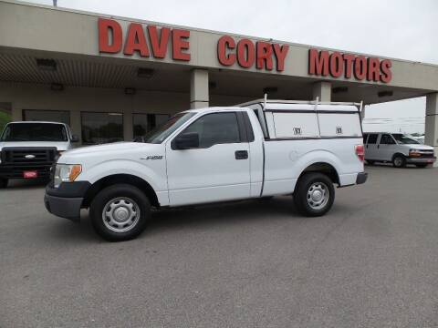 2014 Ford F-150 for sale at DAVE CORY MOTORS in Houston TX