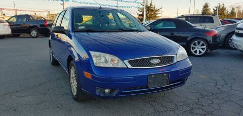 2006 Ford Focus for sale at I-80 Auto Sales in Hazel Crest IL