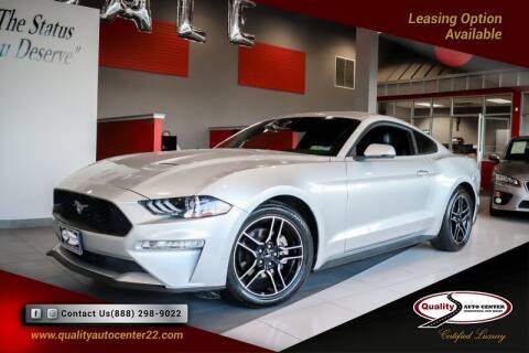 2018 Ford Mustang for sale at Quality Auto Center of Springfield in Springfield NJ
