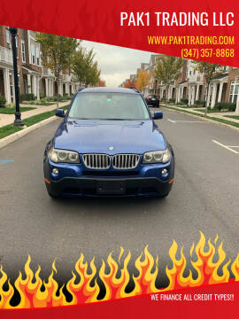 2007 BMW X3 for sale at Pak1 Trading LLC in South Hackensack NJ