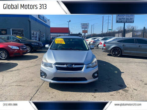 2013 Subaru Impreza for sale at Global Motors 313 in Detroit MI