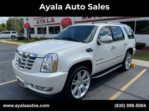 2007 Cadillac Escalade for sale at Ayala Auto Sales in Aurora IL