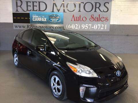 2014 Toyota Prius for sale at REED MOTORS LLC in Phoenix AZ