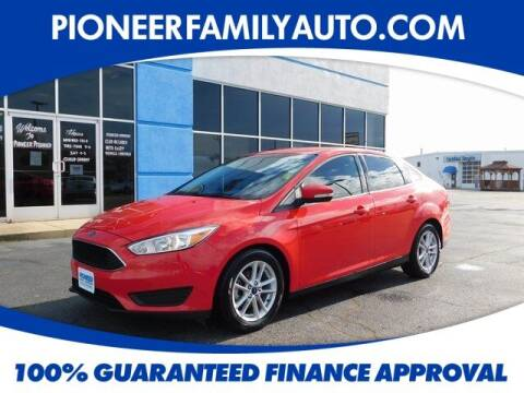 2017 Ford Focus for sale at Pioneer Family auto in Marietta OH