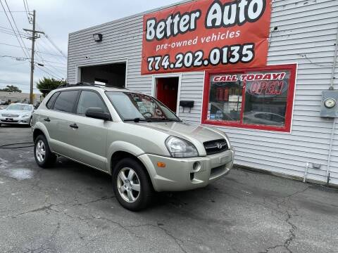 2006 Hyundai Tucson for sale at Better Auto in Dartmouth MA