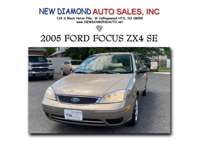 2005 Ford Focus for sale at New Diamond Auto Sales, INC in West Collingswood Heights NJ