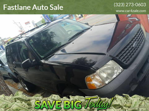 2003 Ford Explorer for sale at Fastlane Auto Sale in Los Angeles CA