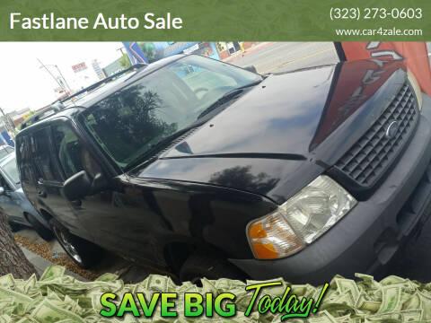 2003 Ford Explorer for sale at Fastlane Auto Sale in Los Angeles CA