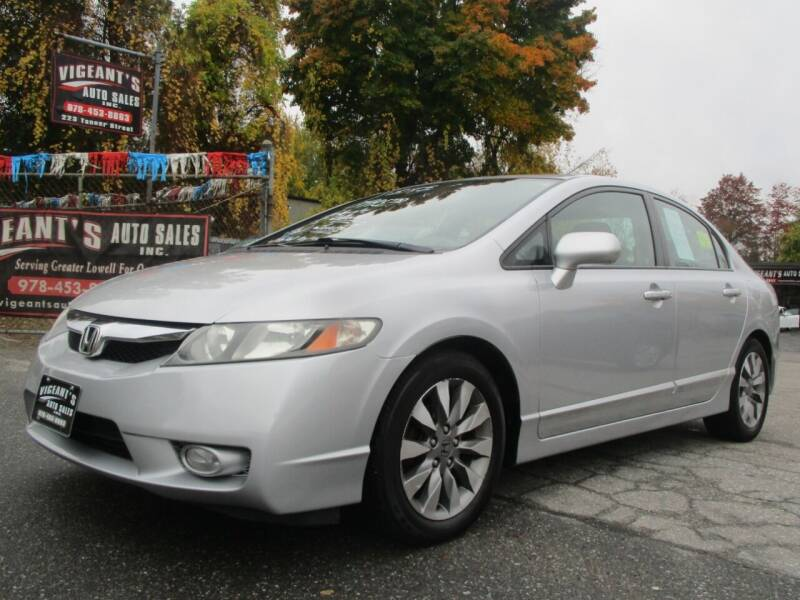 2010 Honda Civic for sale at Vigeants Auto Sales Inc in Lowell MA