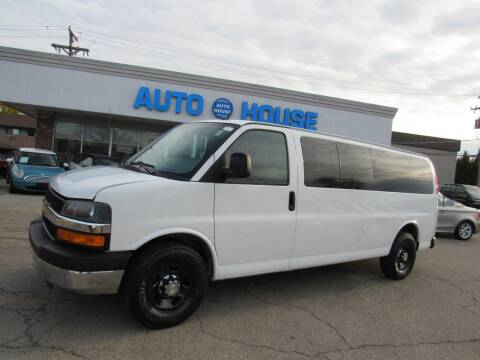 2012 Chevrolet Express Passenger for sale at Auto House Motors in Downers Grove IL