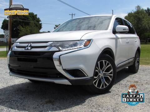 2017 Mitsubishi Outlander for sale at High-Thom Motors in Thomasville NC