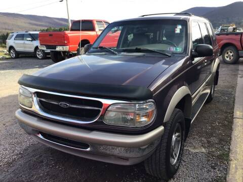 1998 Ford Explorer for sale at Troys Auto Sales in Dornsife PA
