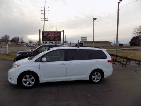 2011 Toyota Sienna for sale at MYLENBUSCH AUTO SOURCE in O` Fallon MO