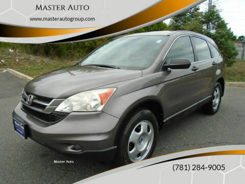 2011 Honda CR-V for sale at Master Auto in Revere MA
