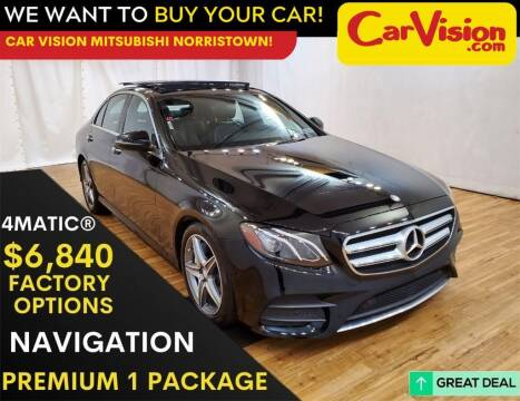 2017 Mercedes-Benz E-Class for sale at Car Vision Mitsubishi Norristown in Trooper PA