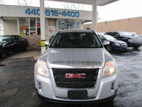 2012 GMC Terrain for sale at Elite Auto Sales in Willowick OH