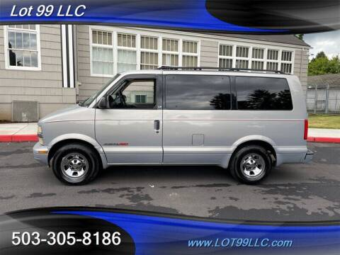 1998 Chevrolet Astro for sale at LOT 99 LLC in Milwaukie OR