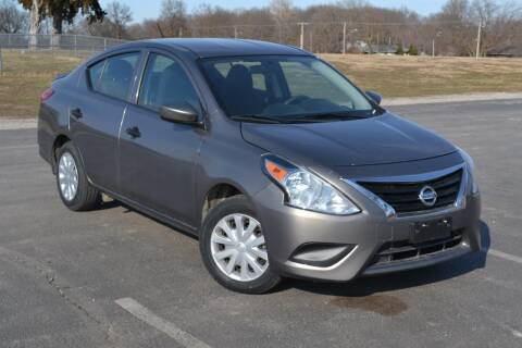 2017 Nissan Versa for sale at GLADSTONE AUTO SALES    GUARANTEED CREDIT APPROVAL in Gladstone MO