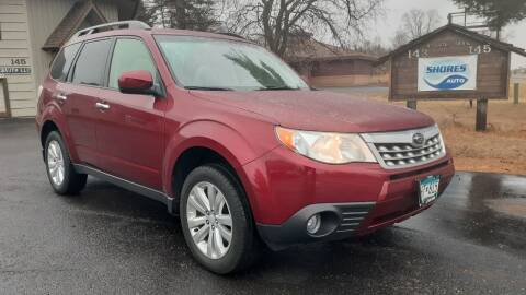 2012 Subaru Forester for sale at Shores Auto in Lakeland Shores MN