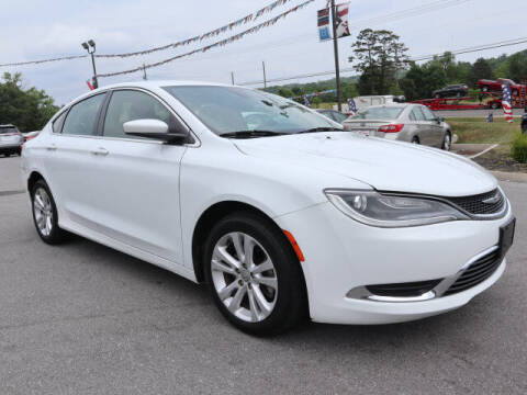 2015 Chrysler 200 for sale at Viles Automotive in Knoxville TN