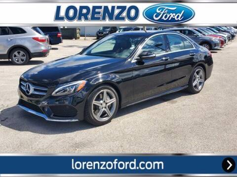 2015 Mercedes-Benz C-Class for sale at Lorenzo Ford in Homestead FL