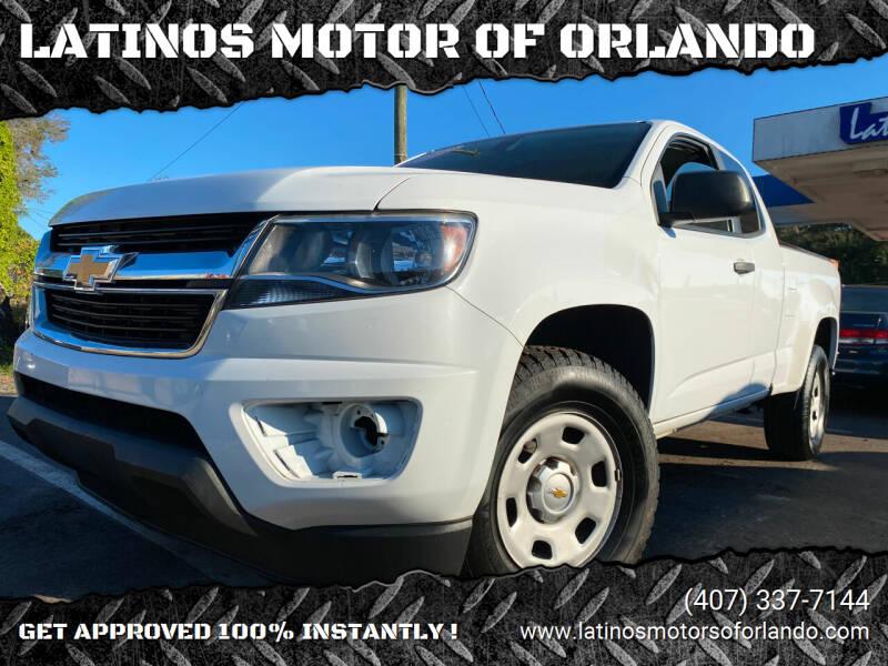 2015 Chevrolet Colorado for sale at LATINOS MOTOR OF ORLANDO in Orlando FL