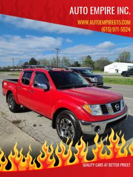 2006 Nissan Frontier for sale at Auto Empire Inc. in Murfreesboro TN