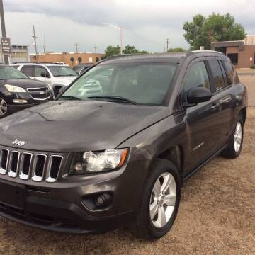 2016 Jeep Compass for sale at AROUND THE WORLD AUTO SALES in Denver CO