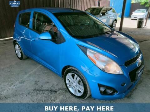 2014 Chevrolet Spark for sale at Stanley Automotive Finance Enterprise - STANLEY DIRECT AUTO in Mesquite TX