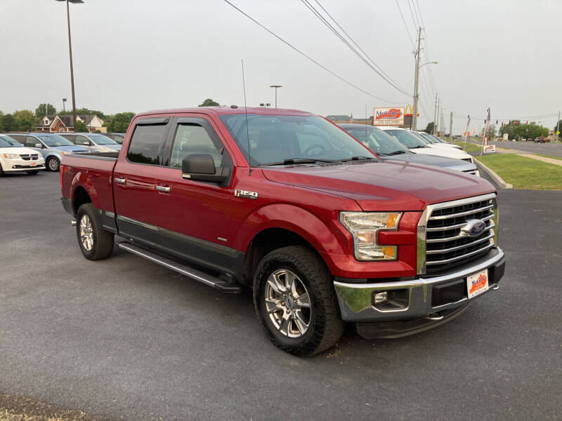 2016 Ford F-150 for sale at McCully's Automotive - Trucks & SUV's in Benton KY