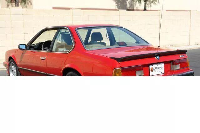 1988 BMW M6 17