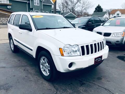2007 Jeep Grand Cherokee for sale at SHEFFIELD MOTORS INC in Kenosha WI